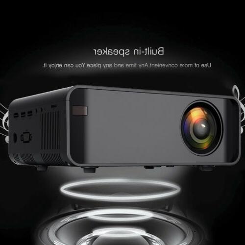 Projector 23000 Lumens 3D WiFi Video Theater