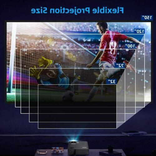 Projector Lumens 3D 4K WiFi Cinema