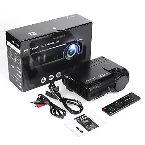 Projector, Lux Video supporting -50,000 HD with AV, Theater