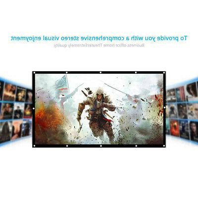 h150 150 portable projector screen 16 9
