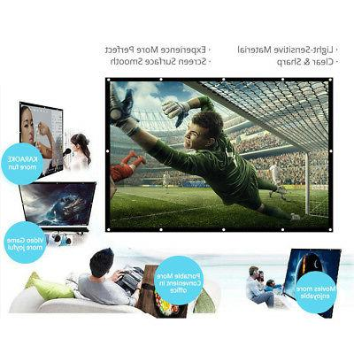 Projector Screen HD Dacron Diagonal Video Projection