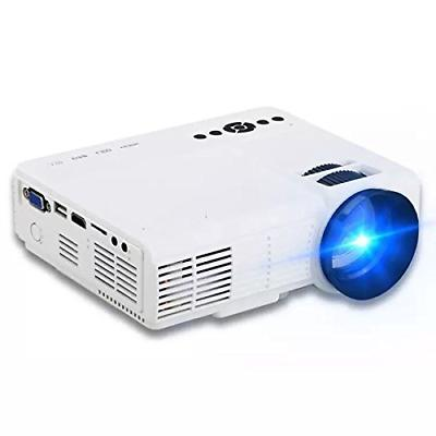 Projector2018 Upgraded XINDA 2000 Lumens Video Projector wit