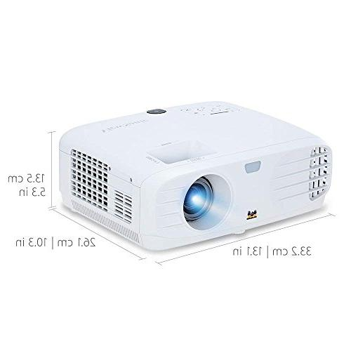 ViewSonic 1080p Projector 3500 DLP Dual HDMI Input Theater
