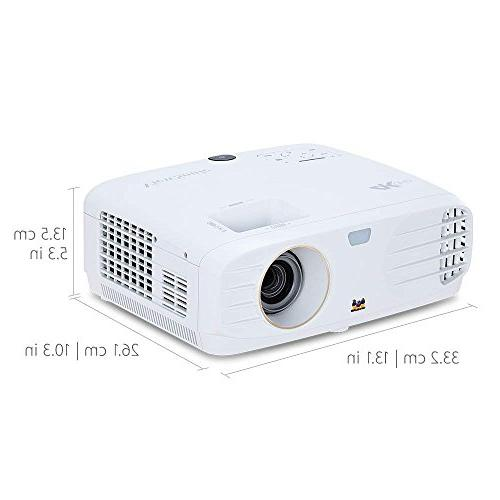 ViewSonic Projector Wide RGBRGB Rec 709 HDR and Dual for Home Theater