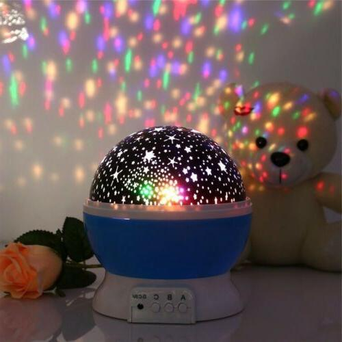Sky Moon Projector Lamp Star Cosmos Gifts