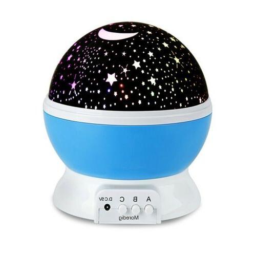 Romantic Starry Sky Moon Galaxy Lamp Light Gifts