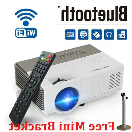 smart hd android projector wifi bluetooth video