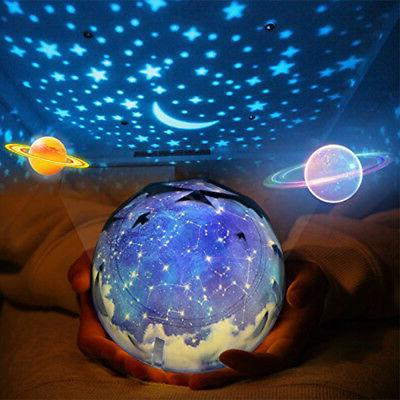 Space Night Light Projection Lamp Star Sea Projector