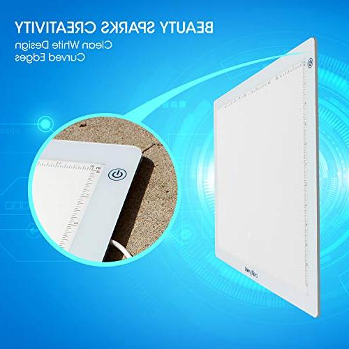 """Craftymint Ultra 19"""" LED Light Pad - USB Clarity and Reduces Eye Strain Diamond Drawing, and"""
