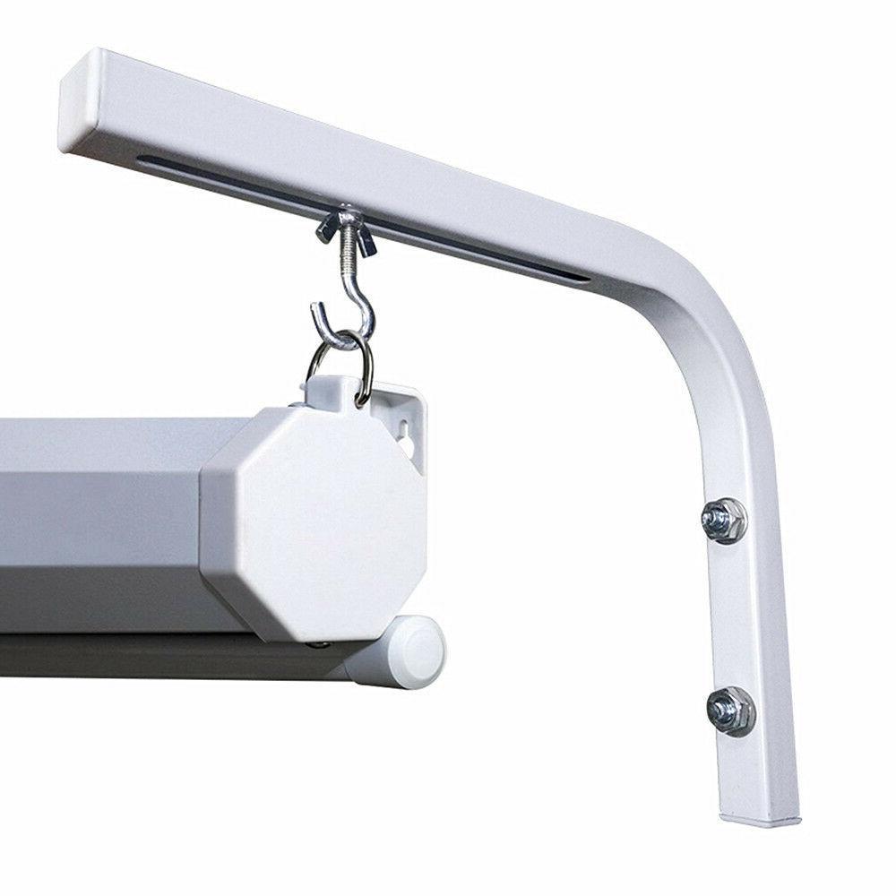 universal wall mount hanging adjustable l bracket