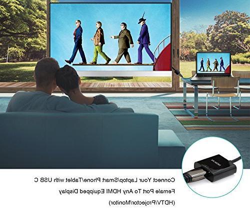 USB C HDMI Adapter MacBook Pro Pro/MacBook Air Galaxy and