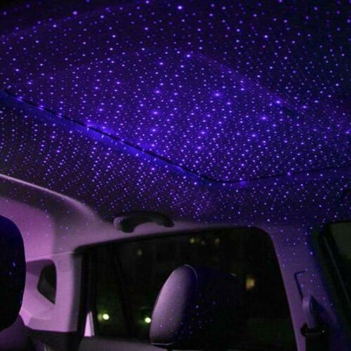 USB Car Interior Starry Sky Ambient Projector USB