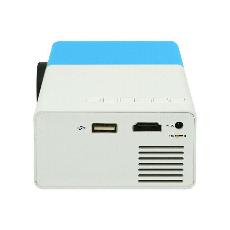 1080P Home Theater USB HDMI AV SD Mini LED Projector
