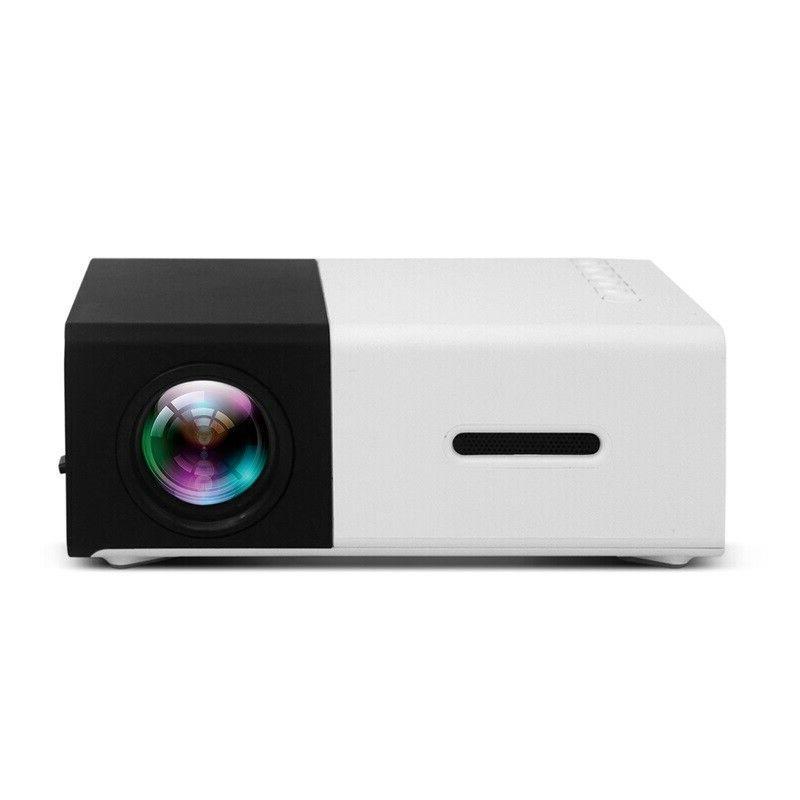 1080P Home USB HDMI Mini HD Projector US