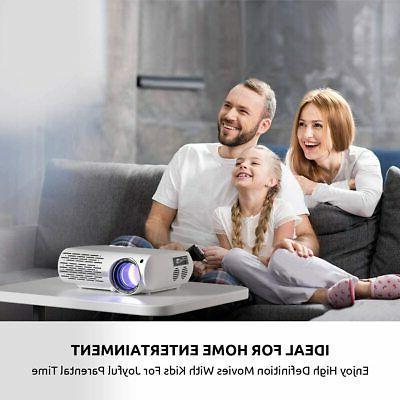 Crenova Video Projector, Lux 200''