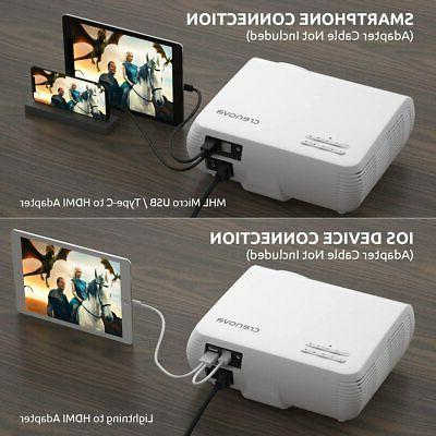 Crenova Video 6800 Lux Home Movie 200''