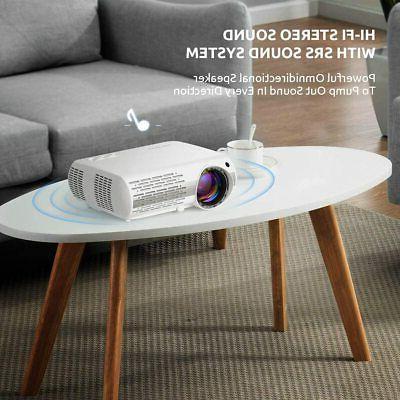 Crenova Video Projector, Lux Home 200''