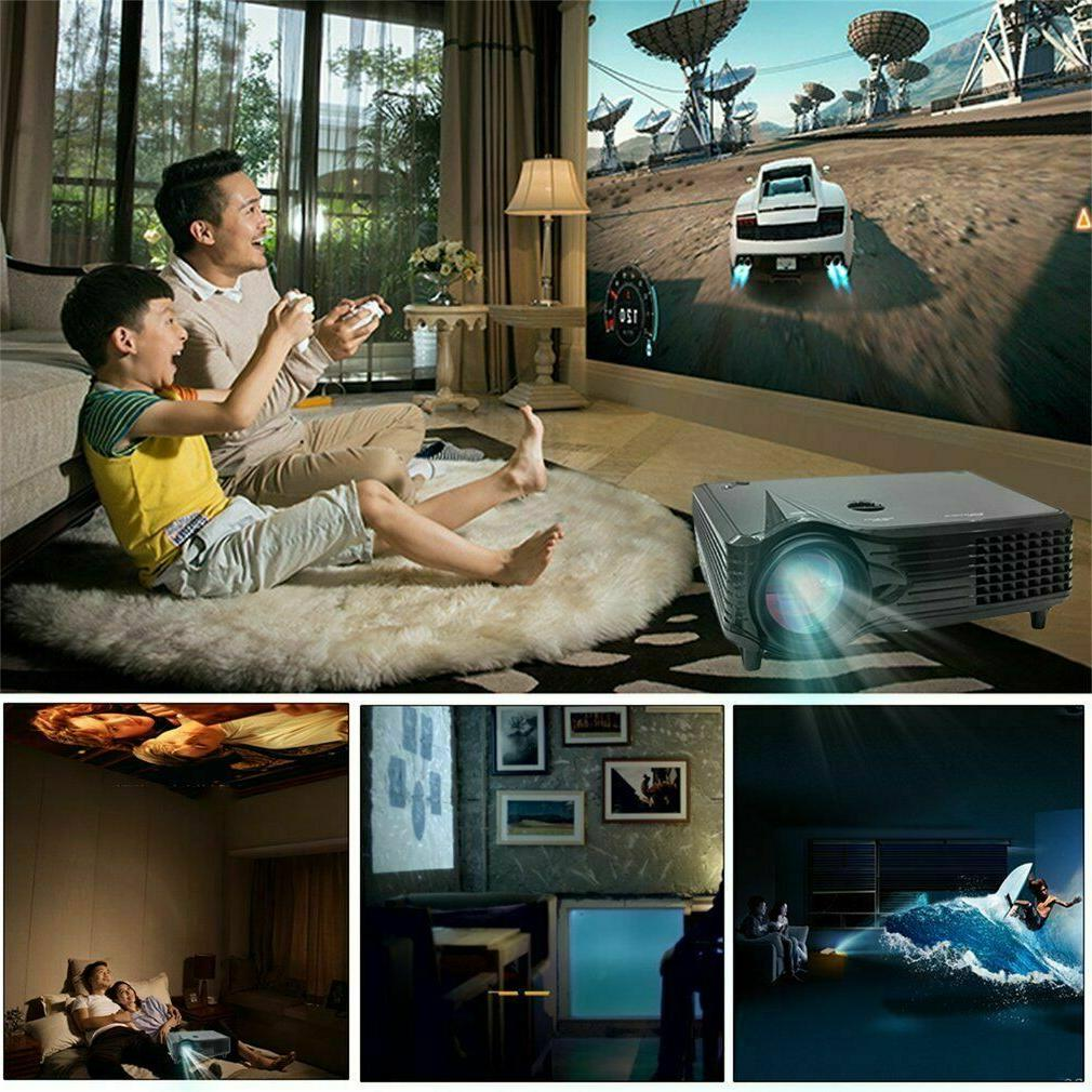 Portable Mini HD 1080P Home Theater Movie LED