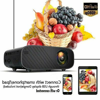 4K Projector Android 6.0 BT 1080P HD 8GB