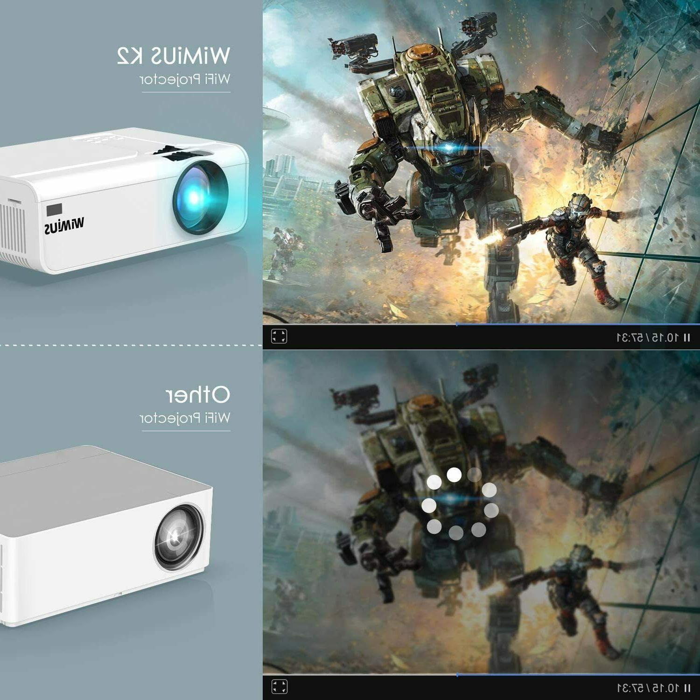 Wireless HD Lumens Home Movie Video LCD HDMI