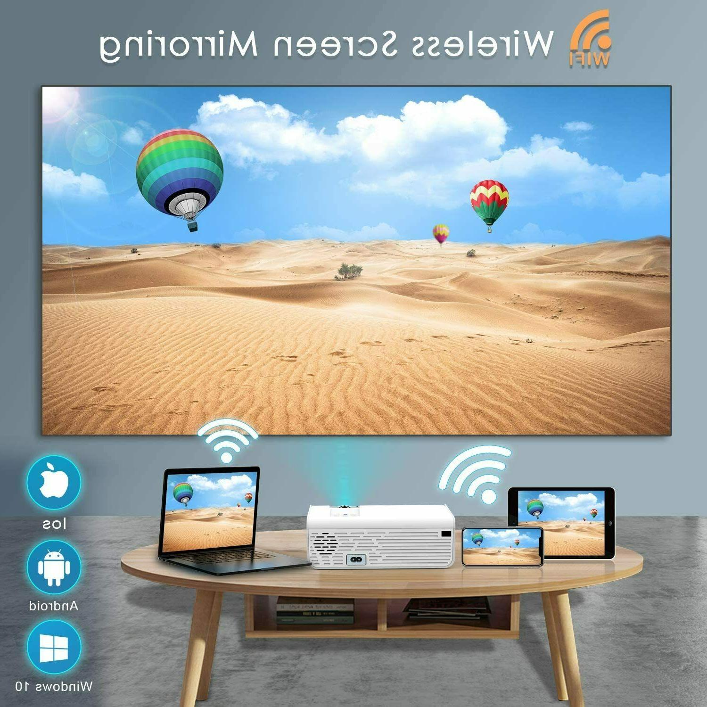 Wireless Bluetooth 4K HD 7500 Movie HDMI