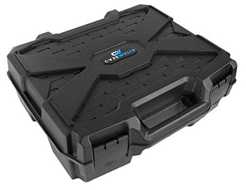 CASEMATIX Projector Travel Case Designed for SVGA, and Foam Compartment and Shell