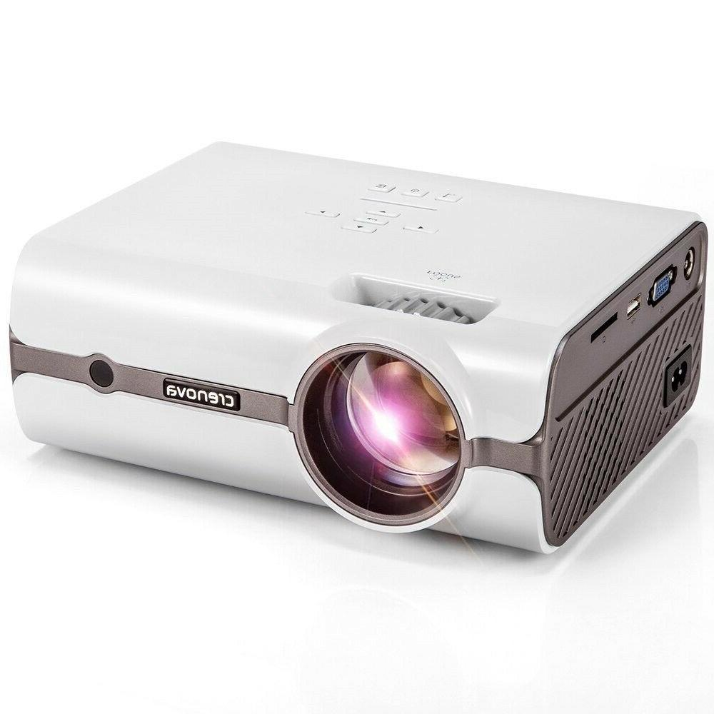 Crenova XPE496 2018 Upgraded Projector For PC/Mac/TV/DVD/iPh