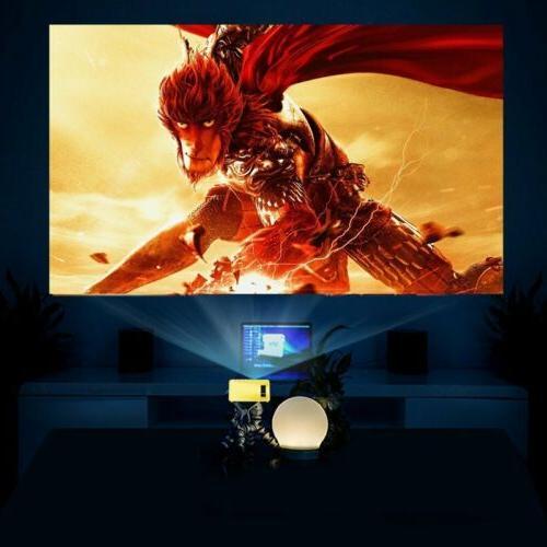 YG300 Mini LED LCD HD 1080P USB