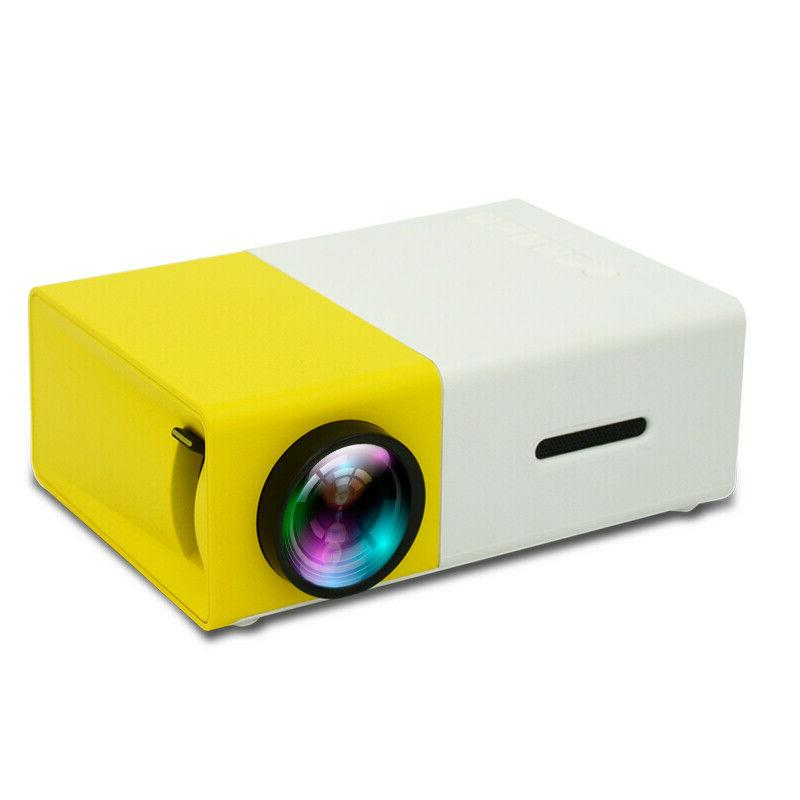 YG300 Cinema SD Portable HD LED Projector