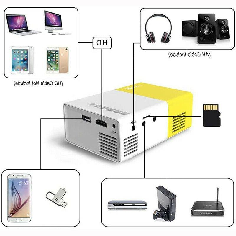 YG300 Home Cinema 1080P USB SD LED US