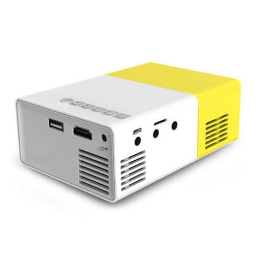 YG300 Mini Portable LED Projector HD USB