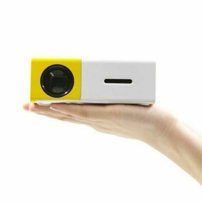 YG300 Portable Multimedia LED Projector HD 1080P USB