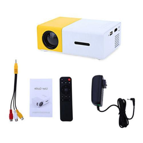 YG300 LED Projector HD 1080P Home USB