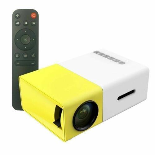 YG300 Portable LED LCD Full HD 1080P USB