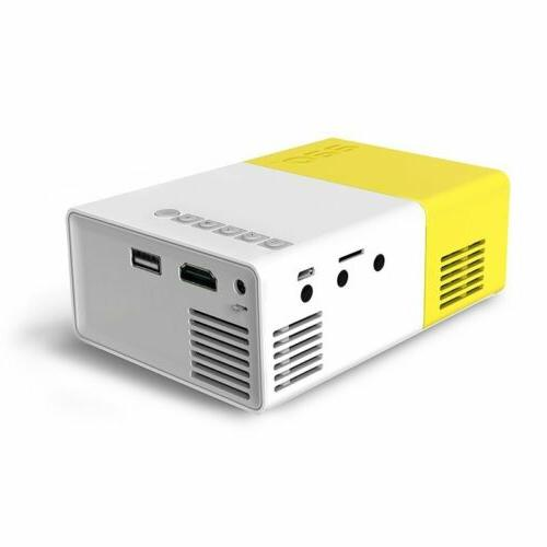 YG300 Portable Home HDMI AV Projector Video