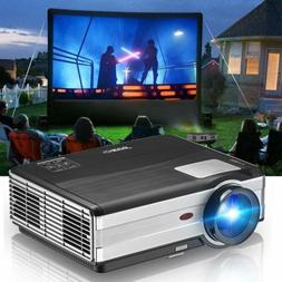 LCD Multimedia Projector Home Theater Backyard Movie 1080P V