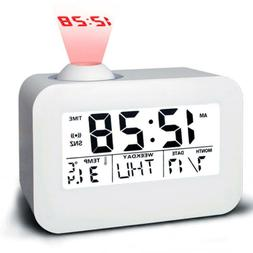 Lcd Projection Clock Electronic Desk Table Clock Talking Pro