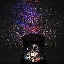 LED Starry Night Sky Galaxy Projector Lamp Star Romantic LED