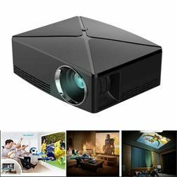 LED Projector 1080P HD Mini 3D Multimedia Home Theater Cinem