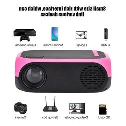 LED Projector Mini Portable Handheld Projector HD 1080P Home
