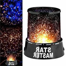 LED Star light Romantic Starry Night Sky Projector Lamp Kids