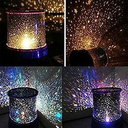 LED Starry Night Sky Galaxy Projector Lamp Star Romantic Cos