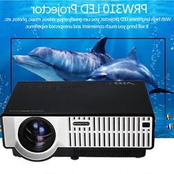 LED Portable Projector High Resolution 1280*800 Ultra HD 108