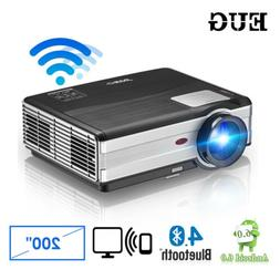 LED WiFi Home Theater Projector Android Wireless1280x800 Wxg