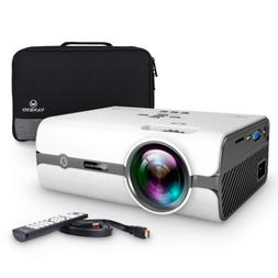 VANKYO Leisure 410 LED Projector with 2800 Lux, Carrying Bag