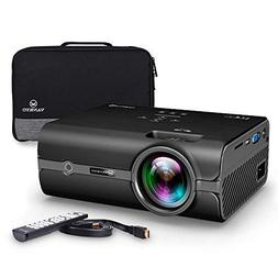 VANKYO Portable Projector with 2500 Lux, Support HD 1080P, M