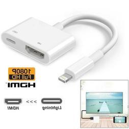 Lightning To HDMI Digital AV TV Cable Adapter For Apple iPad