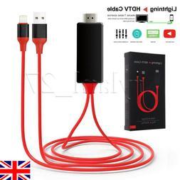 Lightning to HDMI Digital TV AV Adapter Cable For Apple iPad