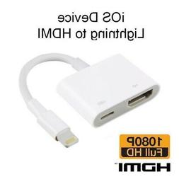 Lightning to HDMI Digital TV AV Cable Adapter For Apple iPad