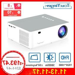 TouYinger M19 <font><b>Projector</b></font> Full HD 1080P 58